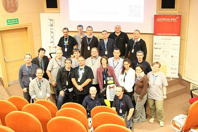 Joomla! Day organisation team and speakers