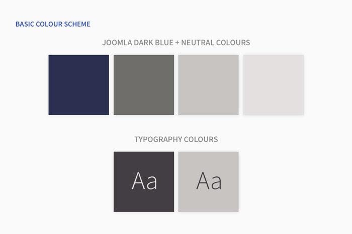 Basis Farbschema