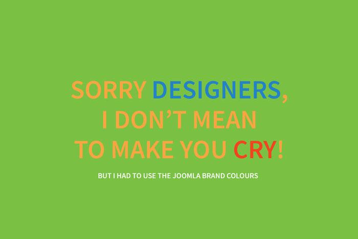 Joomla! 4 Branding Farben