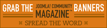 Grab the Joomla! Community Banners! Spread the word!