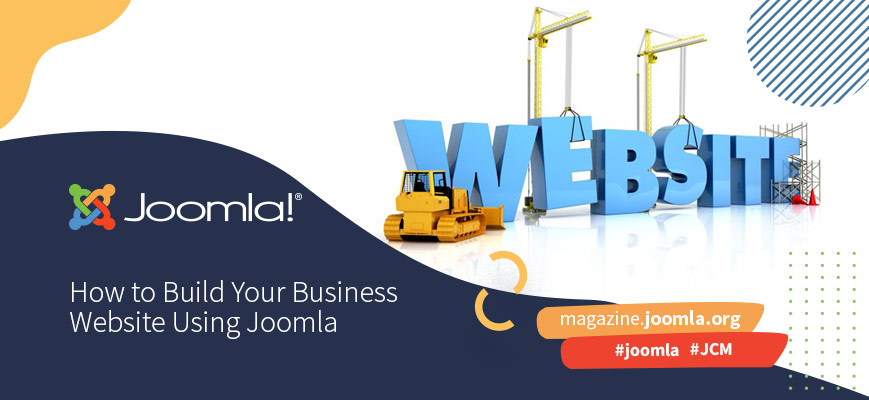 How to Build Your Business Website Using Joomla