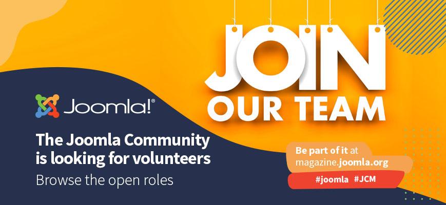 Community Openings: Joomla wants you!