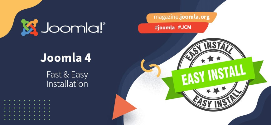 Installing Joomla! has never been so easy and so fast