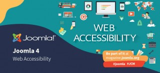 Joomla 4 and Accessibility: give back the web to everyone
