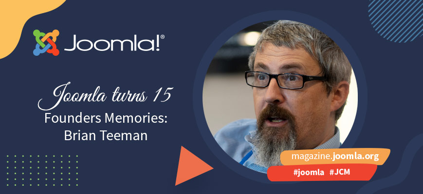Joomla 15 years later - Founders' memories: Brian Teeman