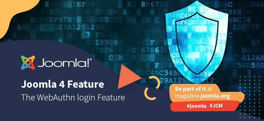 Passwordless authentication for secure, fast and easy logins in Joomla! 4