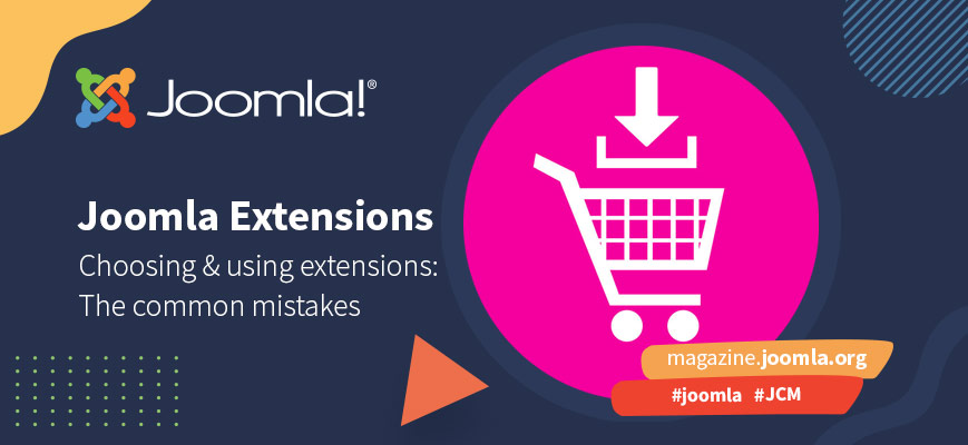 19 common mistakes about Joomla extensions part 2