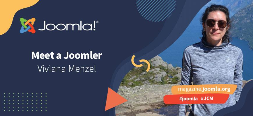 Meet a Joomler: Viviana Menzel