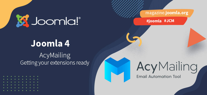 Getting extensions ready for Joomla 4: Alexandre Derocq