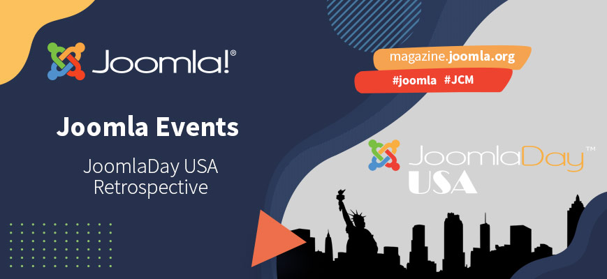 JoomlaDay USA 2021 - A retrospective on the first US-wide virtual event