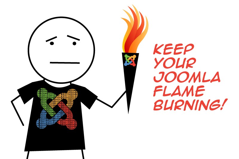 Dropping the Joomla! Torch
