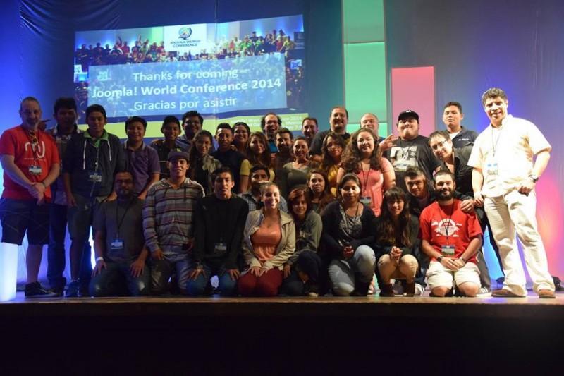 Fuerza latina en la Joomla! World Conference 2014