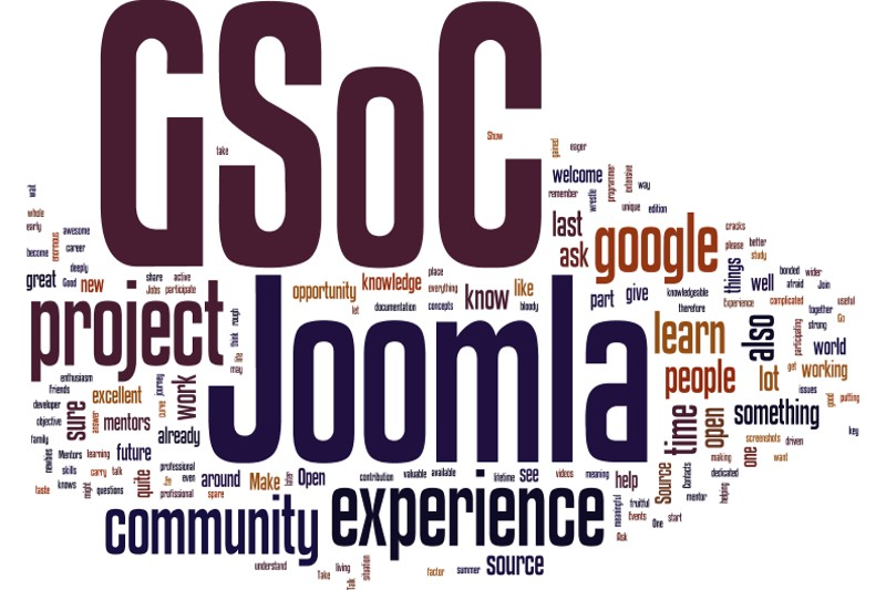 The brains behind the Joomla! GSoC projects