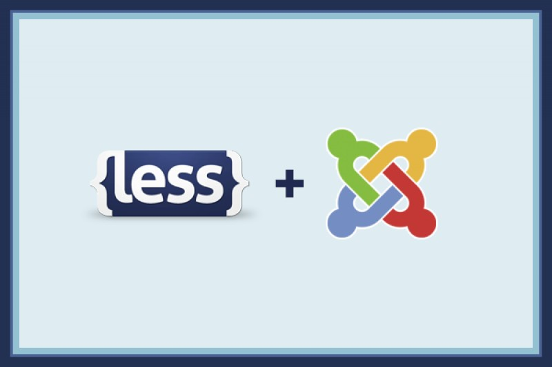 Do LESS in Joomla!
