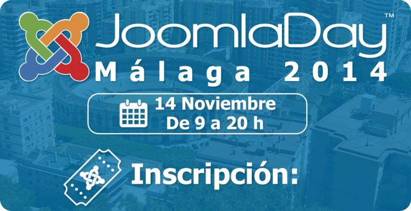 JoomlaDay Málaga, viernes 14 de noviembre