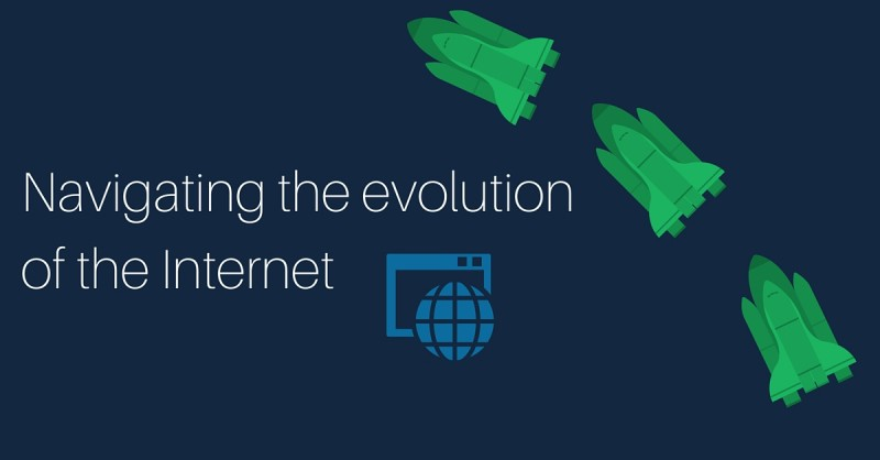 The Evolution of the Internet from a geek's paradise to a consumer ecosystem