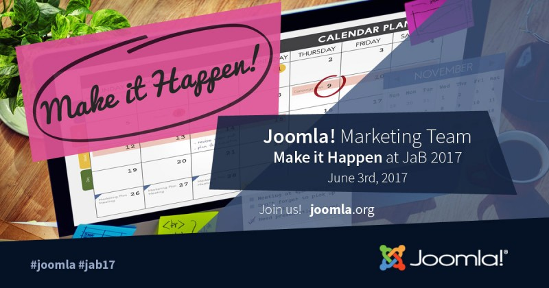 Marketing Make It Happen - JandBeyond 2017