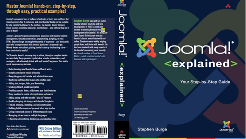 "Book Review: ""Joomla! Explained""  by Steve Burge"