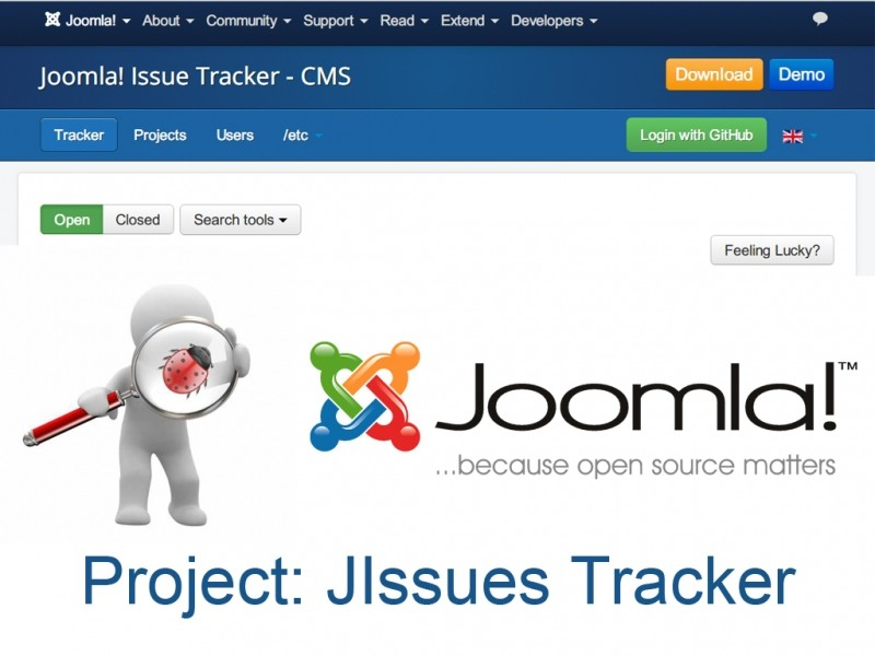 Project: JIssues Tracker