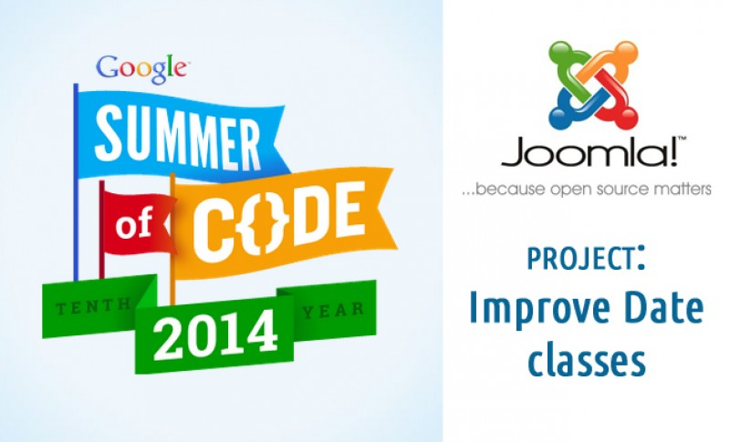 GSoC 2014: Managing Date and Time