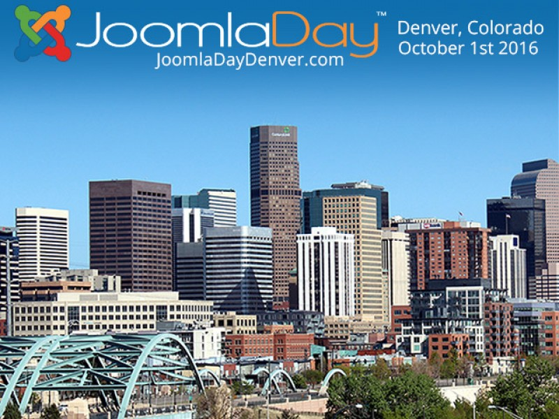 JoomlaDay Comes To Denver October 1st 2016