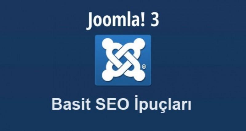 Joomla 3.0 SEO ipuçları