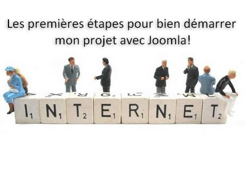 Les premières étapes pour bien démarrer mon projet avec Joomla!