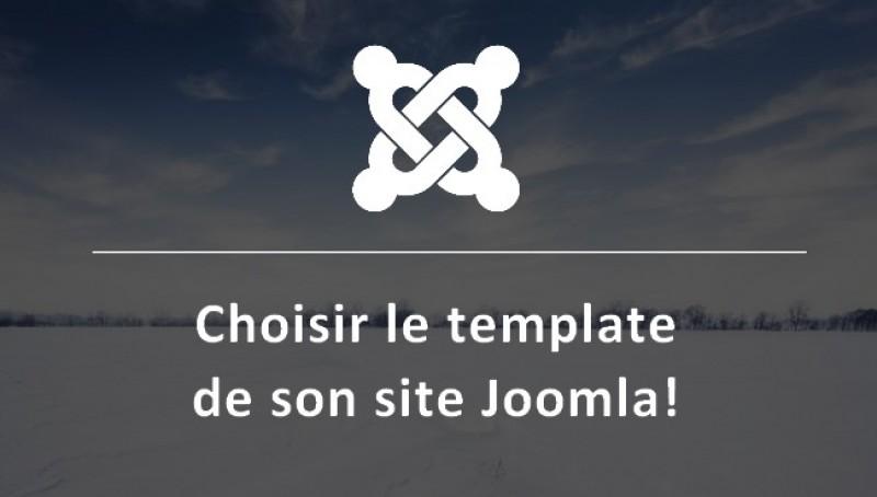 Choisir le template de son site Joomla!