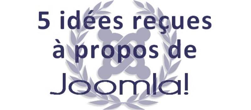 5 idées reçues à propos de Joomla!