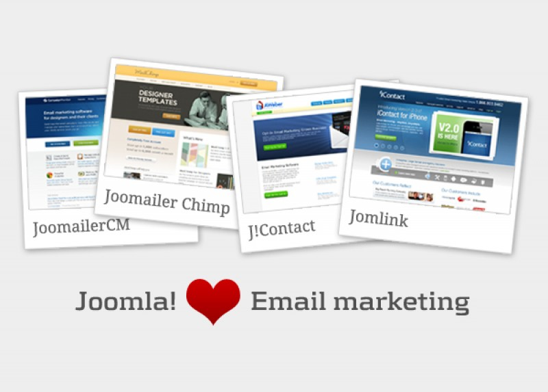 Helpful E-mail Marketing Components for Joomla! Powered Websites