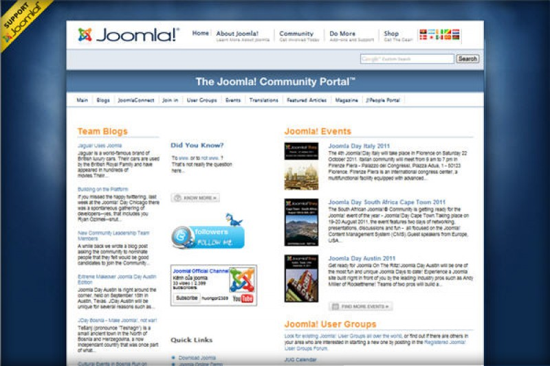 Joomla Community – Let's Get Involved and Make a contribution!