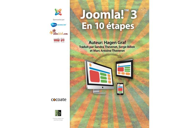 """Livre gratuit """"Joomla! 3 - En 10 étapes """""""