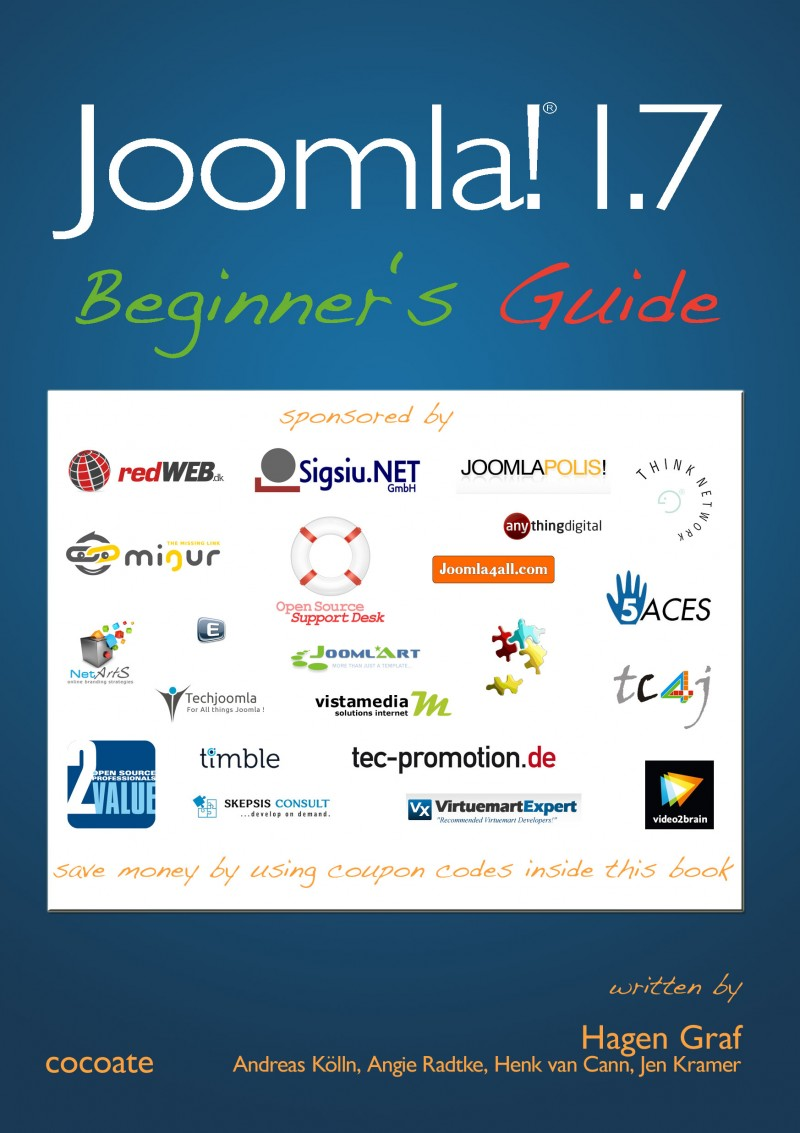 Download the Joomla! 1.7 - Beginner's Guide and save money!