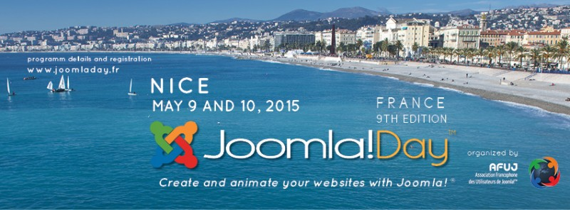 JoomlaDay Nice France 2015, by the Mediterranean