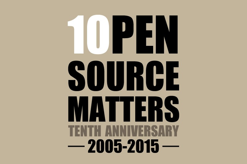 Celebrating the 10th Birthday of Open Source Matters