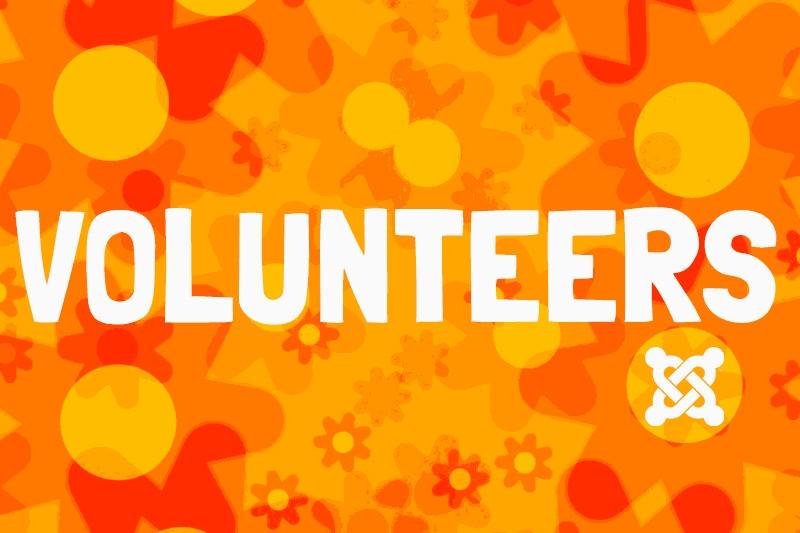 Volunteers making Joomla great!