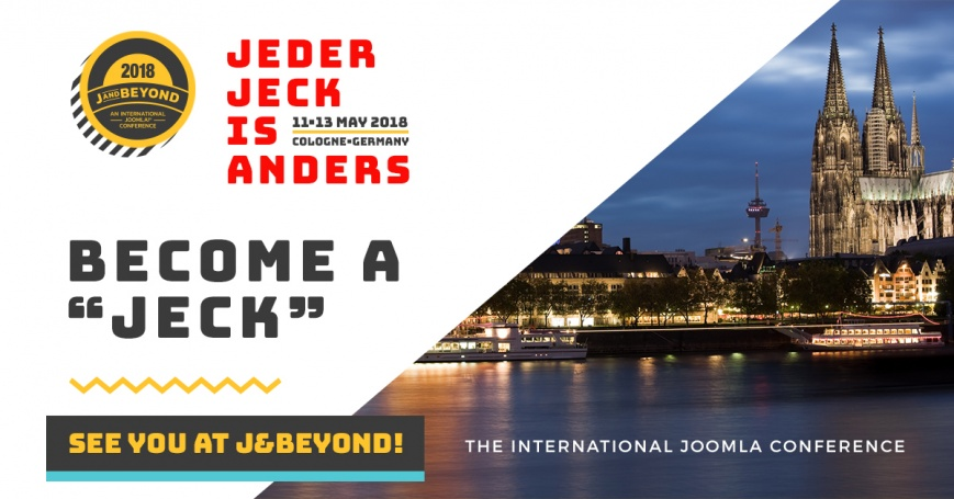 J&Beyond 2018 - Become a Jeck!