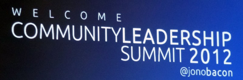 Joomla! at the Community Leadership Summit 2012