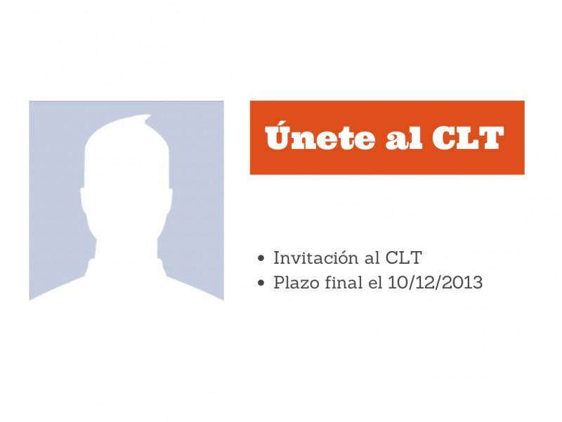 Te invitamos a ser parte del CLT