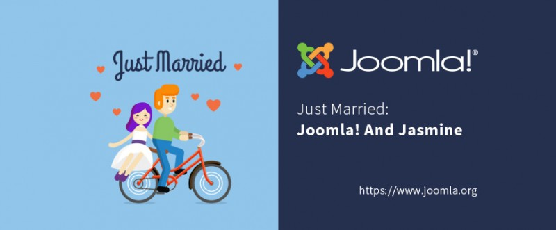 Just married: Joomla and Jasmine