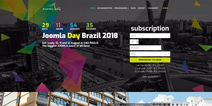 Joomla Day Brazil 2018