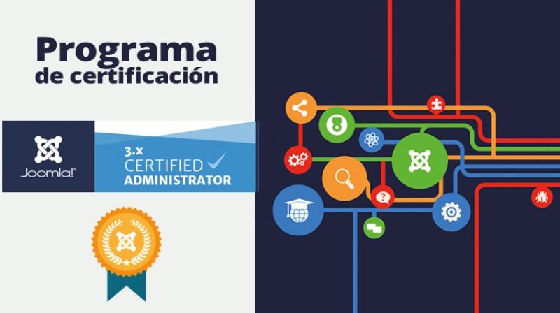 Ya viene el programa de certificación de Joomla!
