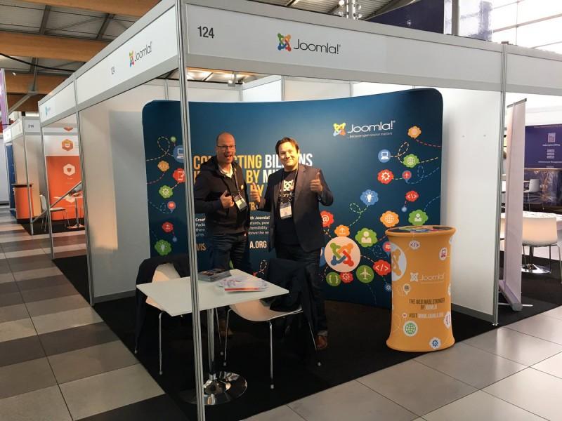 Joomla! (also) attends #HostingCon Europe 2016