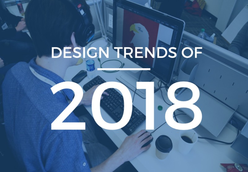 10 Webdesign trends of 2018