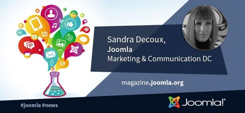 Sandra Decoux,  Marketing & Communication Department Coordinator