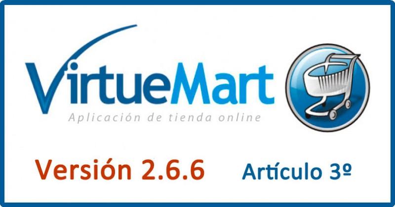 03.- Categorías y productos en VirtueMart
