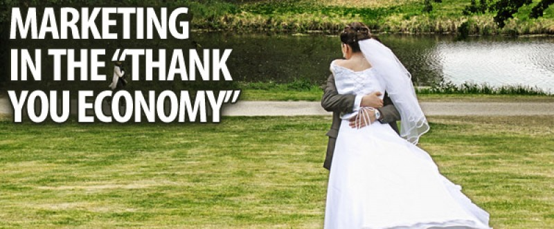 Marketing & Dating Meet at the Thank You Economy