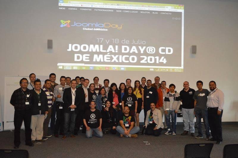 Resultados del Joomla Day Ciudad de México 2014