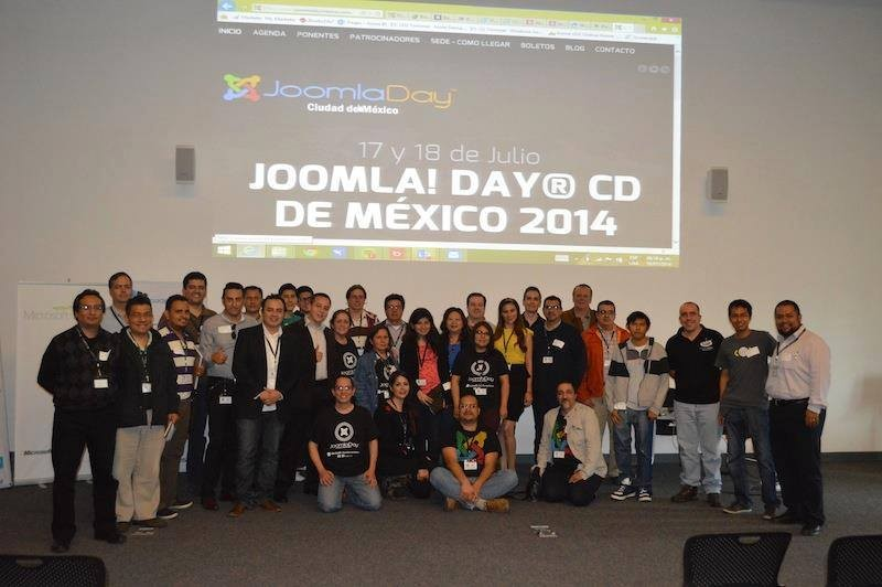 Great Results at JoomlaDay México City 2014