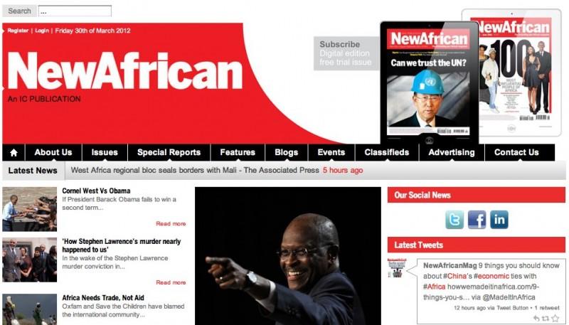 Website Case Study: Global Online Magazine